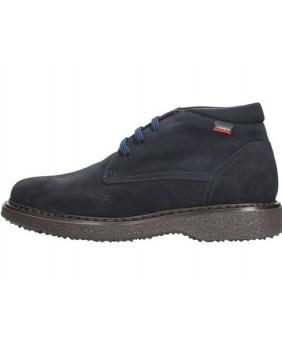 Callaghan 12302 free crep polacchini scarpe stringate uomo pelle blu