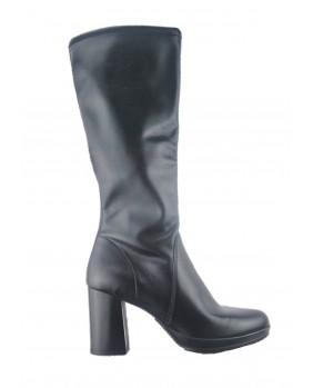 MERCANTE DI FIORI stivale modello elasticizzato scarpe donna nero