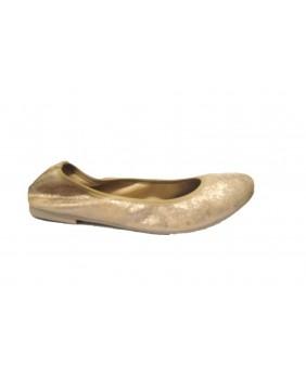 MERCANTE DI FIORI ballerine scarpe donna in pelle beige camoscio 6e5a87f3a37