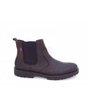 CALLAGHAN 16502 beatles scarpe stivaletti uomo pelle marrone