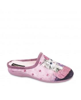VALLEVERDE 26122 pianelle pantofole donna rosa panno PLANTARE ESTRAIBILE