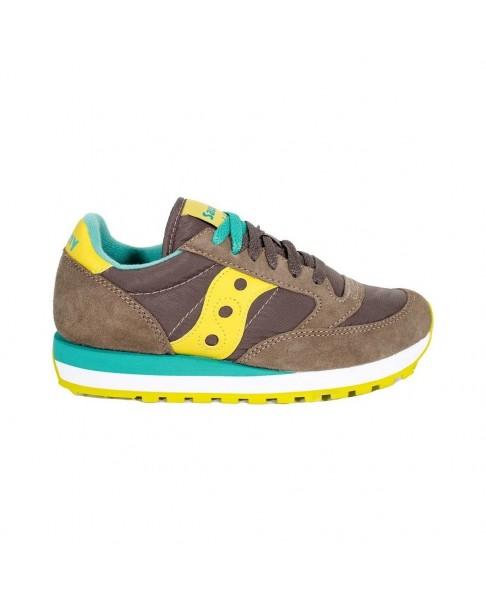 SAUCONY JAZZ Original sneakers donna grigio e giallo