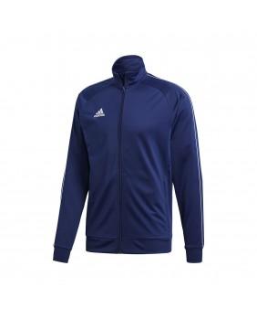 ADIDAS CORE18 CV3563 jacket felpa maglia con zip giacca unisex