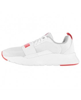 PUMA WIRED JR sneakers tela bianco donna running