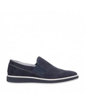 IGI&CO 5108200 mocassino sneakers scarpe slip on uomo blu
