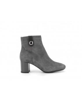 ENVAL Soft 6288822 stivaletto tronchetto grigio scarpe con tacco donna
