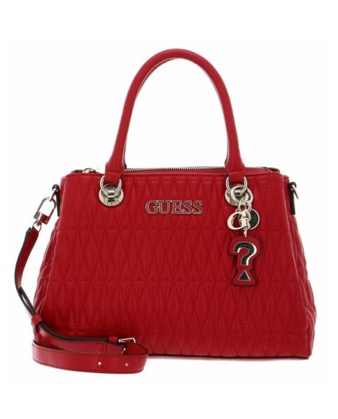 GUESS BRINKLEY VG787106 RED Borsa spalla shopping materasse donna rosso