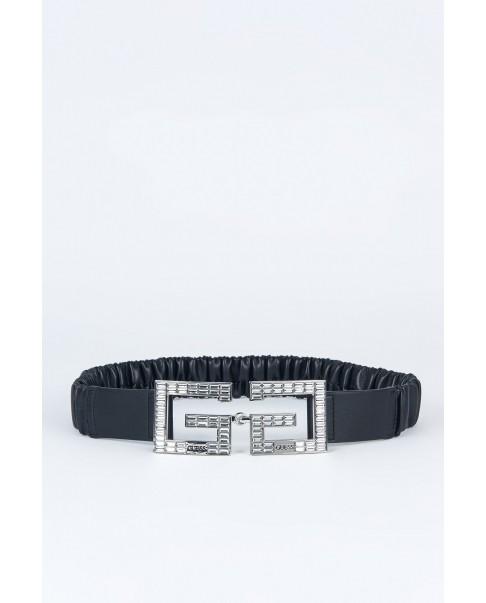 GUESS BW7355P0340 cintura elastica donna con logo black