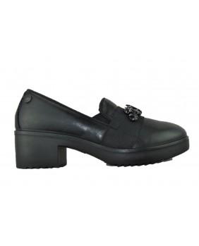 ENVAL Soft 2254500 scarpe pelle tacco donna nero