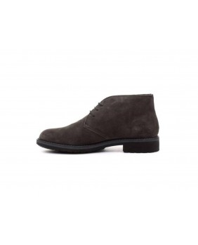 IGI&CO 2106311 polacchini stivaletti scarpe uomo pelle scamosciato grigio