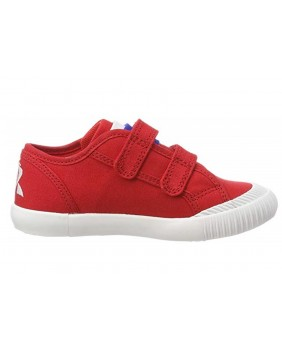 LE COQ SPORTIF Nationale infant sport unisex scarpe sneakers rosso