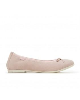 PRIMIGI 3439222 ballerine scarpe camoscio rosa bambina cerimonia