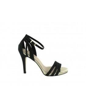 MENBUR KIGALI 007540 Sandali donna tacco alto stiletto nero