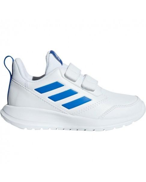 ADIDAS ALTARUN CF K sneakers scarpe bambino blu strappi