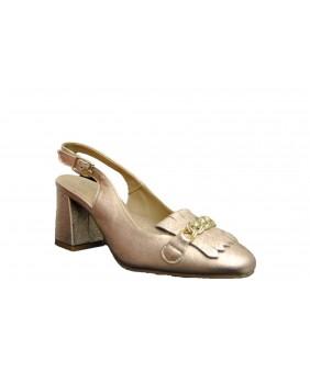 IGI&CO 3179855 sandalo scarpe décolleté aperte dietro con tacco donna pelle