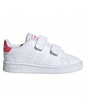 ADIDAS Advantage EF0300 infant sneakers scarpe primi passi pink